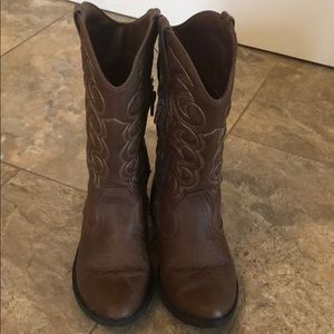 Cat&Jack - Girl Brown boots, size 13